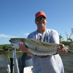 Brett with Bigger Trout