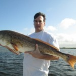 Dave Rienbold and Huge Redfish