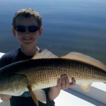 Dylan and Redfish