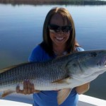 Jill with redfish
