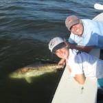 Logan releases his Big Redfish