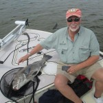 Rick with Giant Black Drum