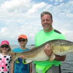 Sklodowski Family with 50 inch Redfish (2)