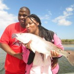 Tawanda and Jason with 2nd Big Red
