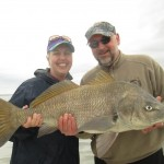 Terreal and Debbie with Big Black Drum