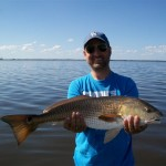 Allan with another 10 pound Redfish
