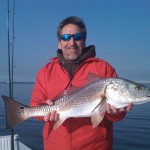William Willard with winter Redfish1