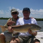 Bruce and Rick with Redfish 1