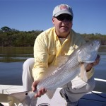 Barry with redfish