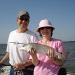 Julie and Wayne and Redfish6