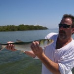 Cliff and Monster Ladyfish