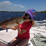 Lainey Kissing Redfish