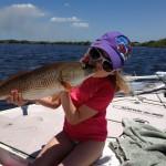 Lainey Kissing Redfish