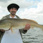 Mark and Giant Redfish