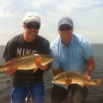 Titus and Richard with Double Reds 2