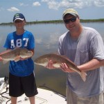 Matt and Zach with Double Reds